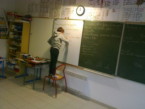 Grammaire, modelage, rythme et écriture...