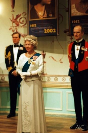 La Reine à son jubilee des 50 ans de règne