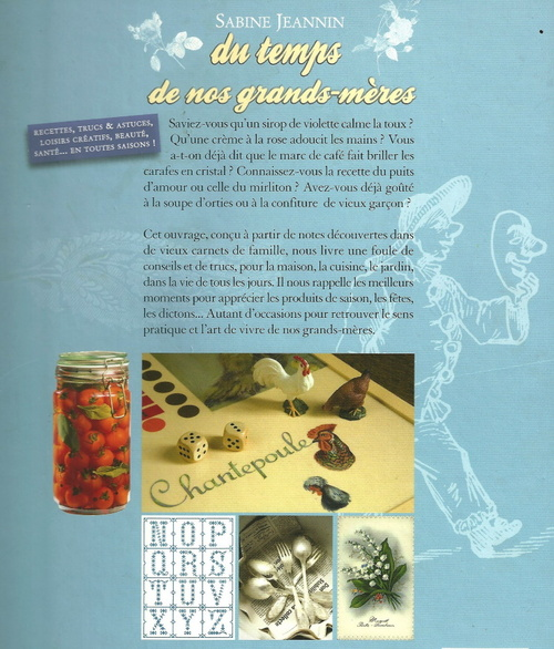 Des recettes de grand-mère...