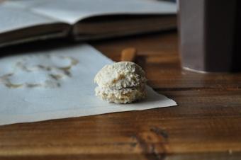 Mousse au chocolat café