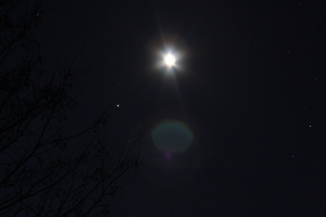 Rapprochement Lune - Jupiter