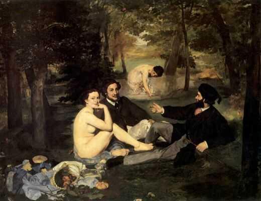 Le Realisme Edouard Manet Mariamgaroum