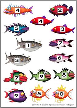 La pêche aux nombres - niveau CP