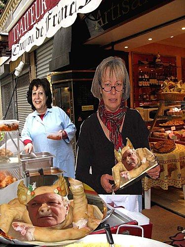 christine Yvette spécialité téte de cochon
