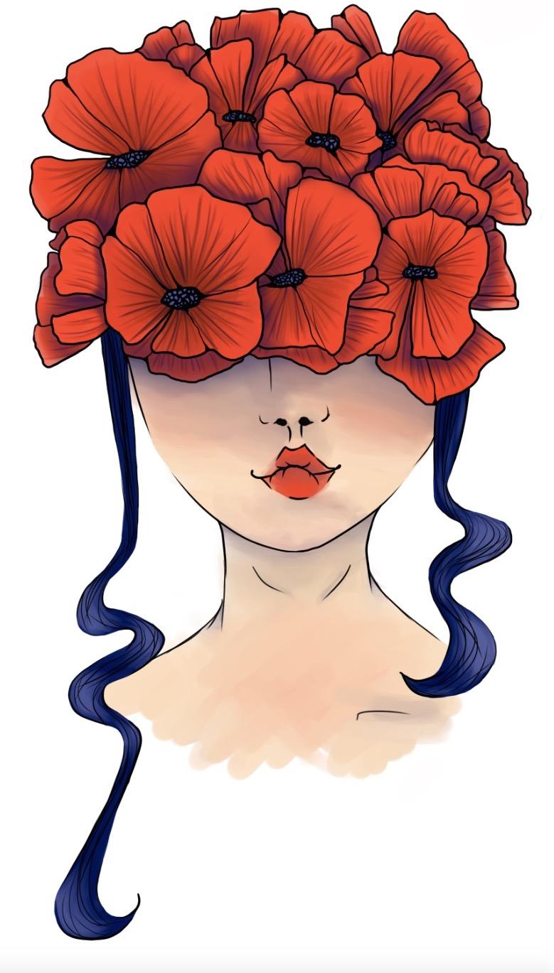 // Lady flower //
