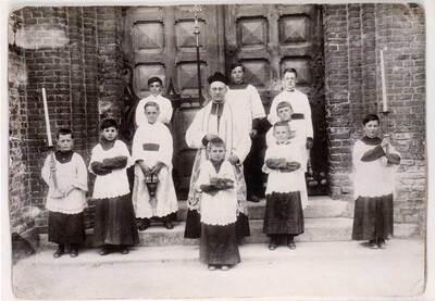 la Croix du Bac : les curés....