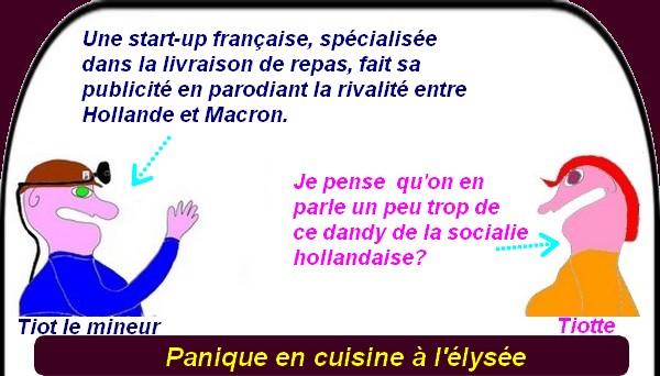 Fillon, Mélenchon, Macron et la panique à l'élysée, Trump, etc.. ce sont les infos du mardi.
