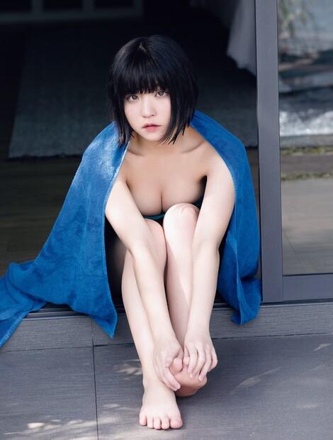 WEB Magazine : ( [FRIDAY Digital - Gravure] - |FRIDAY - 10/05/2019 - Nagi Nemoto : ビキニを外した根本 凪| )
