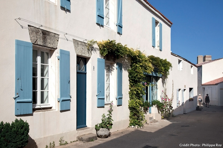 Maison de pêcheur sur l'île de Noirmoutier
