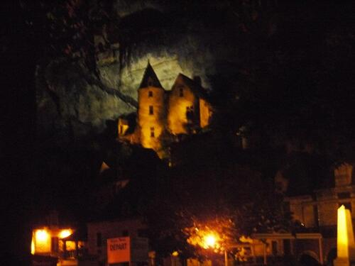 La Roque Gageac by night
