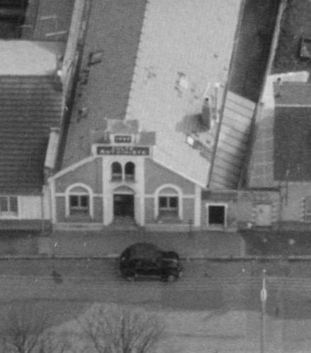 Nantes, rue de la Constitution en 1967, le temple (remonterletemps.ign.fr)