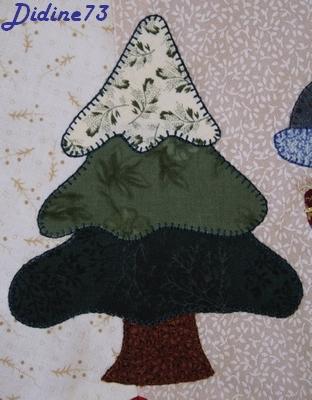 Mon tapis de sapin - étape 2 - zoom 3