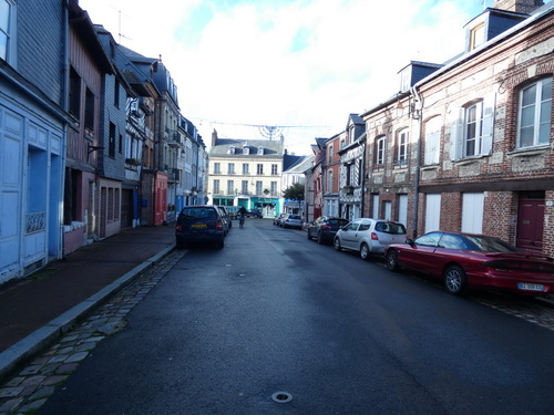 Honfleur , rue notre dame