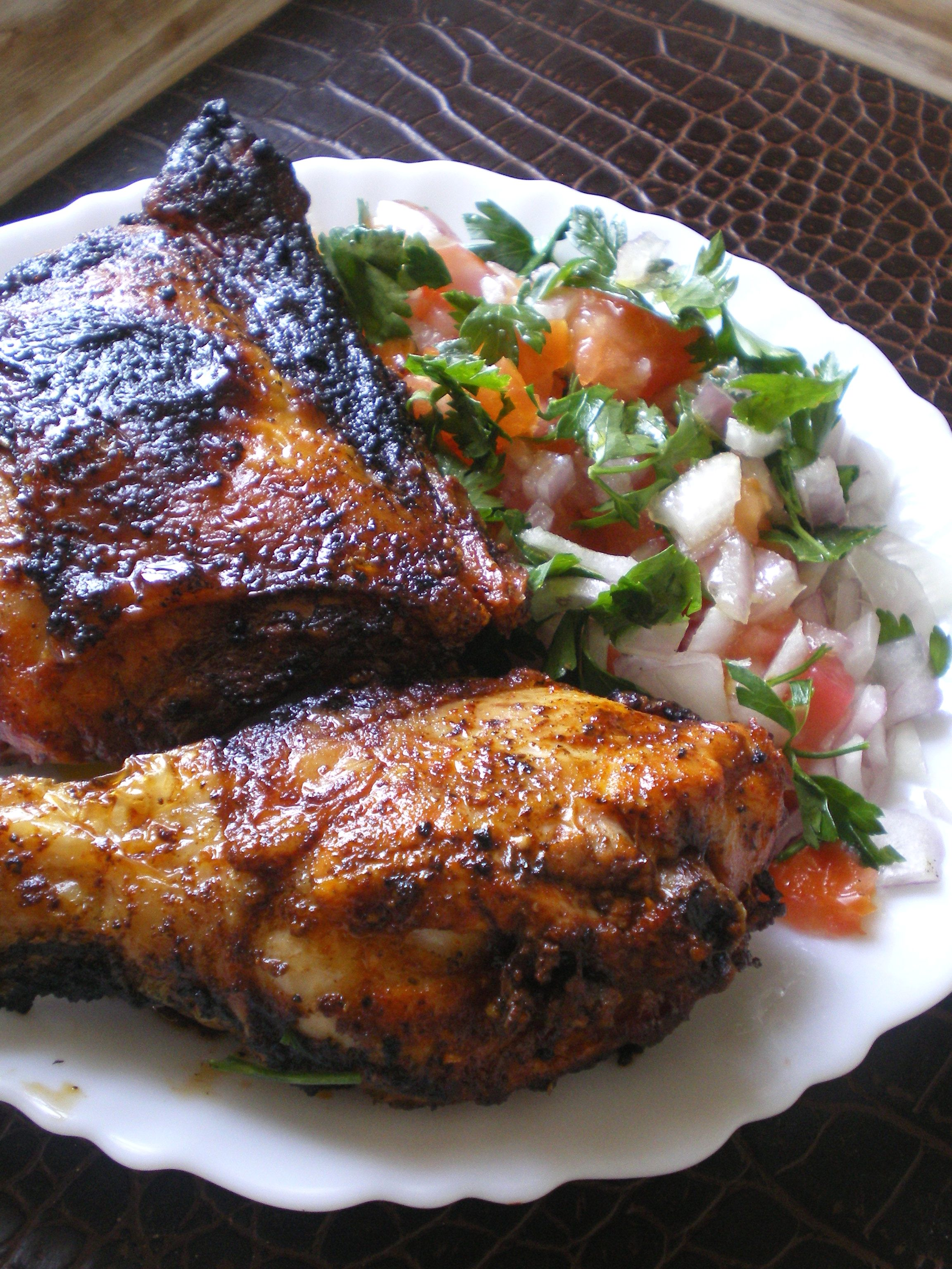 poulet tandoori grill bienvenuedansmacuisine. Black Bedroom Furniture Sets. Home Design Ideas