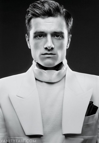 hunger games catching fire josh hutcherson vanity fair