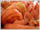 Gratin de bonite tomate basilic