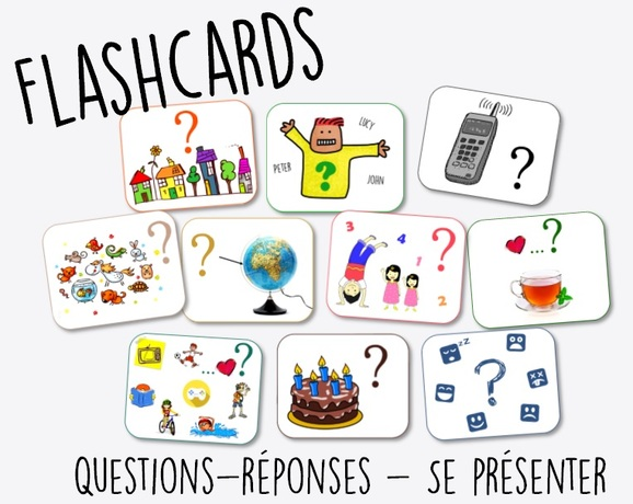 Flashcards - Se présenter