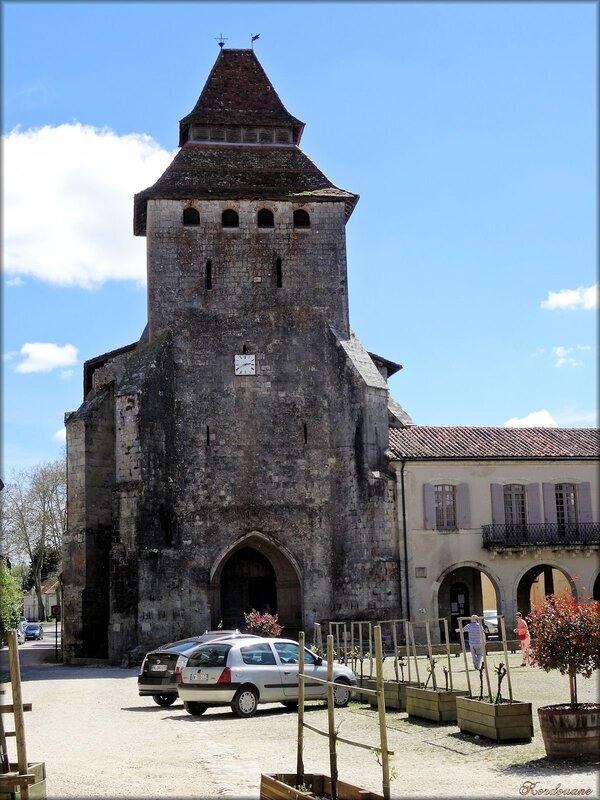 L'église Notre-Dame de La Bastide d'Armagnac