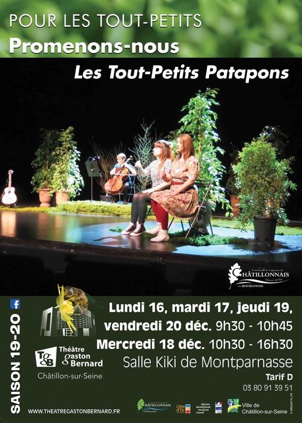 """""""Promenons-nous"""" un très joli spectacle musical pour les tout-petits bientôt au TGB"""