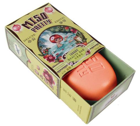 Les packagings girly rétro des cosmétiques Miso Pretty