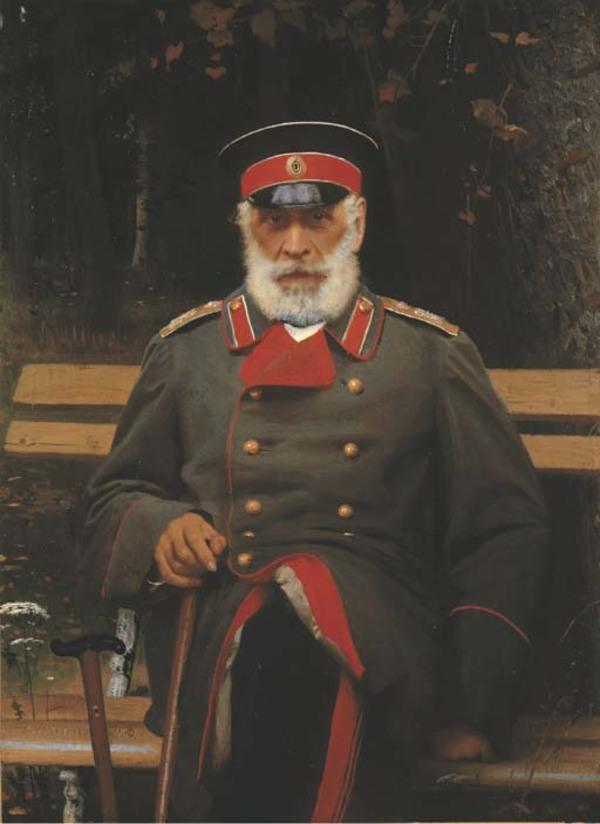 Peinture de : Ivan Nikolaïevitch Kramskoï