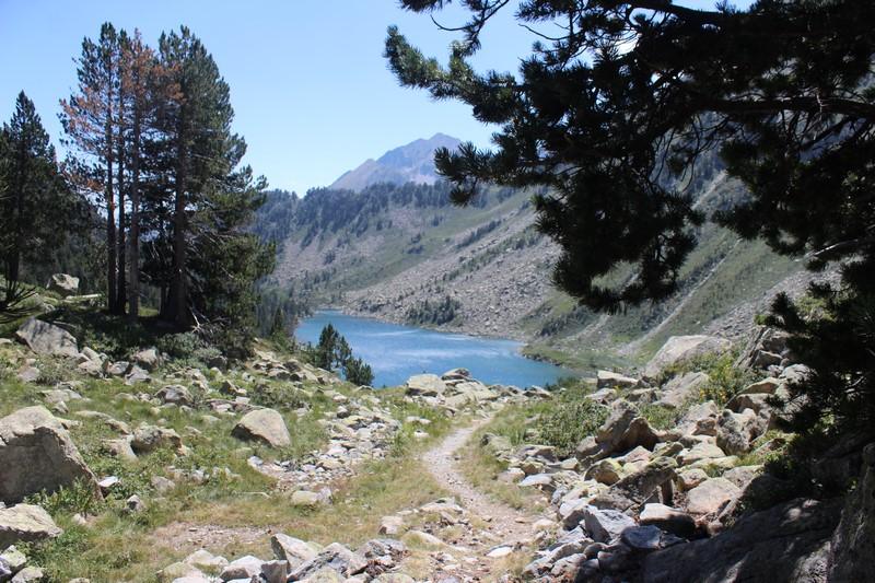 Le lac d'Aumar