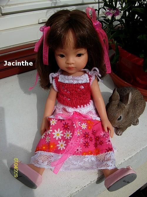Jacinthe en fleurs !