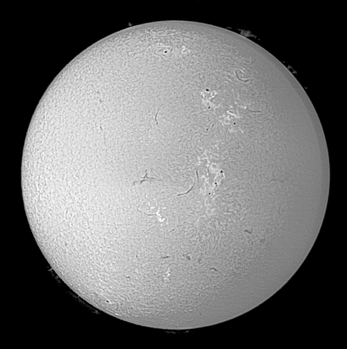 soleil h-alpha,pst cronado,philips spc1300nc,leca philippe,philippe leca,sun h-alpha