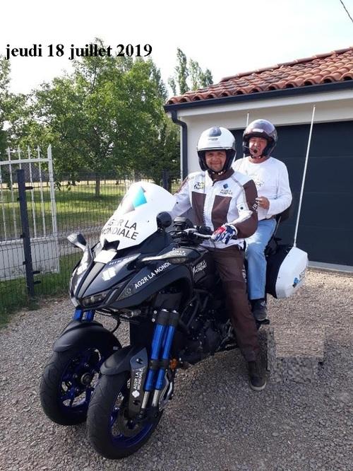 FRANCOIS CHLUDA MOTO TOUR DE FRANCE 2019