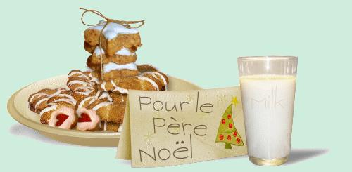 Les Gâteaux de Noël pour Saint Nicolas ou le Père Noël