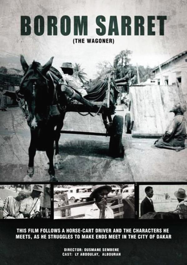 Borom Sarret Poster Sembene Ousmane réalisateur PointtoPoint