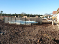 Barrière de protection pour piscine