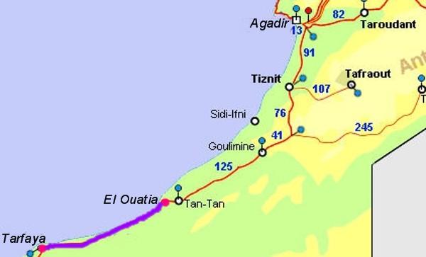El Ouatia (Tan-TAn Plage) a Tarfaya - (1)
