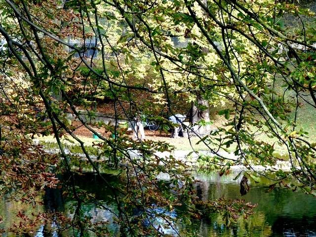 Metz les pêcheurs du canal de Jouy 7 Marc de Metz 23 10 2