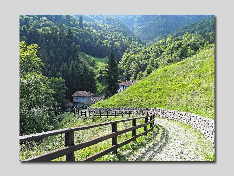 Gerosa (It) Le chemin