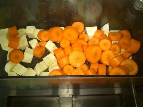 Des petites galettes Carotte/Panais pour faire manger des légumes aux enfants