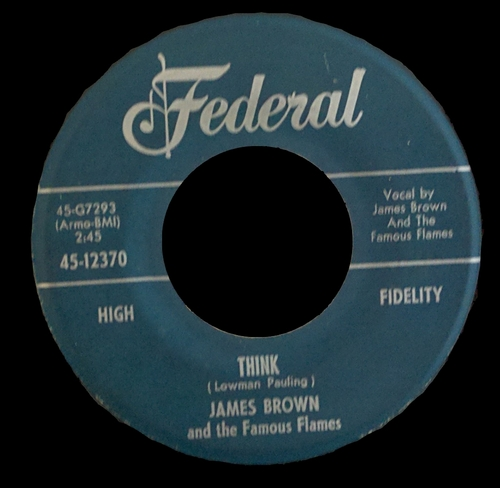 1960 James Brown & The Famous Flames/Bea Ford Federal Records 45-12370 [ US ]