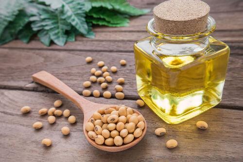 Óleo de soja e seus benefícios contra estria