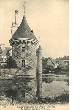LES REMPARTS DE SAINT-GERMAIN DE LIVET (Calvados)