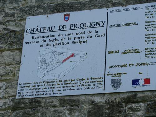 Quelques images du château de Picquigny