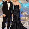 Kristen Stewart et Taylor Lautner sur la scène des Oscars