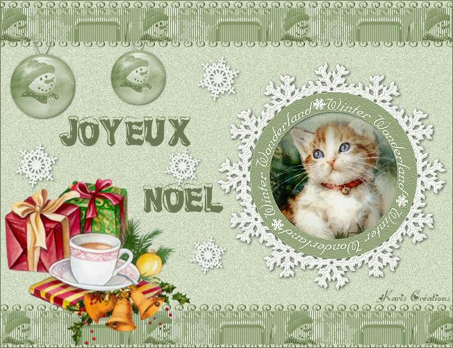 """Joyeux Noel """"Animaux"""" 4"""