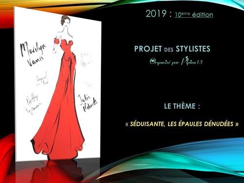 Lancement du projet-styliste 2019