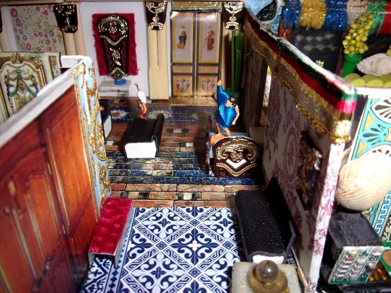 Aujourd'hui : L'empereur Catudila marie sa cousine, puis la nouvelle maison de Sergiane