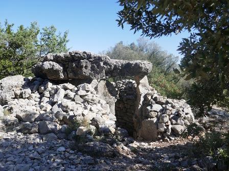 Le dolmen de Marenq