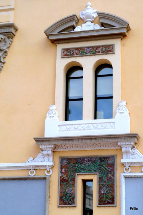 Perpignan : belle fenêtre