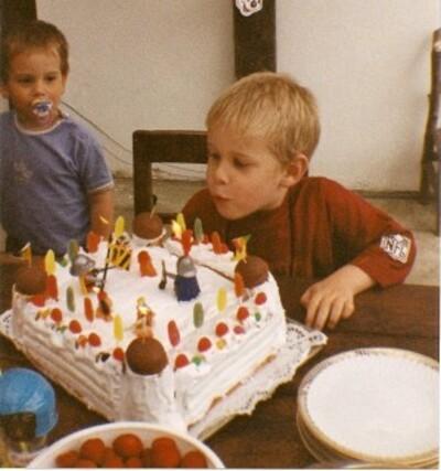 Souvenirs, souvenirs... Robby à 5 ans