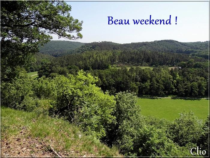 Bonne fin de semaine -:)