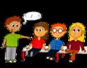 Dessin maternelle - Compter les élèves présents