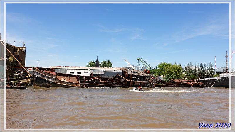 Balade en bateau dans le Delta El Tigre - Tigre - Argentine